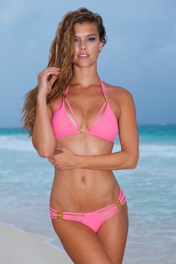 Nina Agdal – Sauvage Swimwear 2013 Resort Collection -30