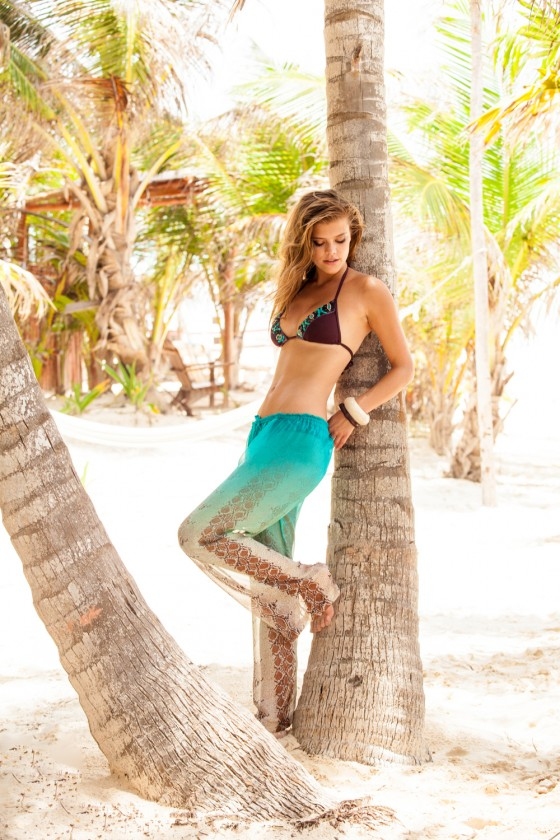 Nina Agdal – Sauvage Swimwear 2013 Resort Collection -34