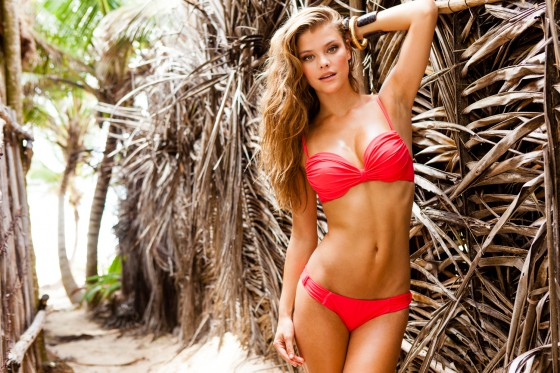 Nina Agdal – Sauvage Swimwear 2013 Resort Collection -38