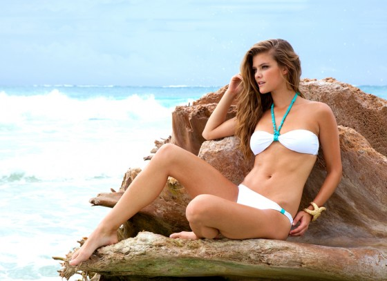 Nina Agdal – Sauvage Swimwear 2013 Resort Collection -43