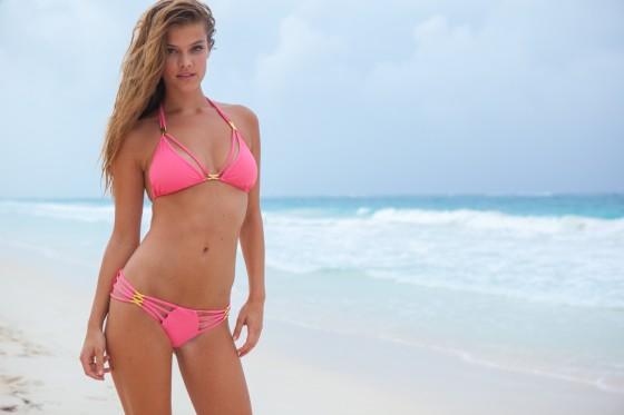 Nina Agdal – Sauvage Swimwear 2013 Resort Collection -45