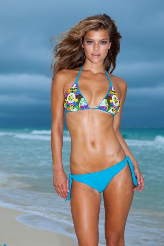Nina Agdal – Sauvage Swimwear 2013 Resort Collection -50