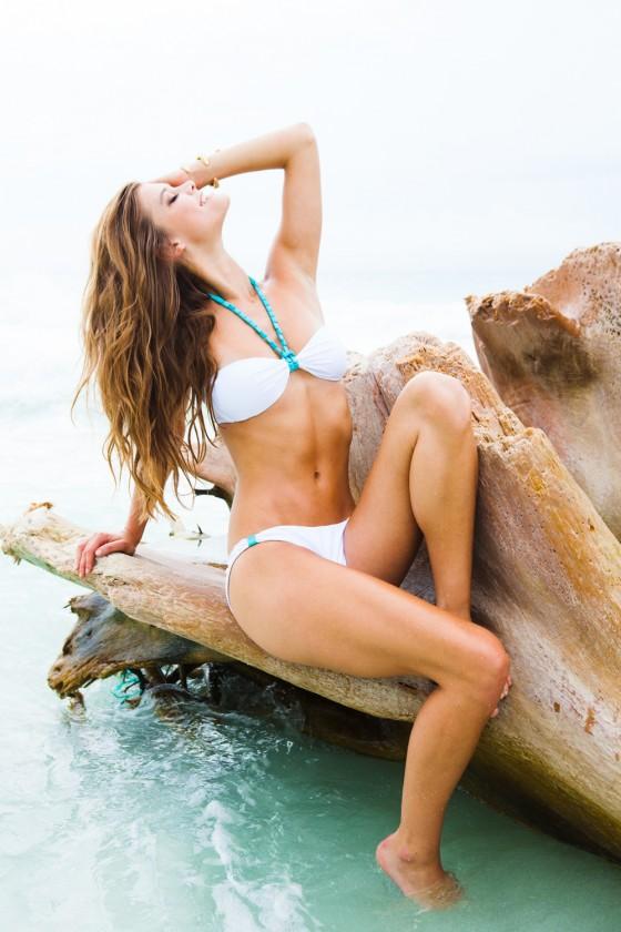 Nina Agdal – Sauvage Swimwear 2013 Resort Collection -51