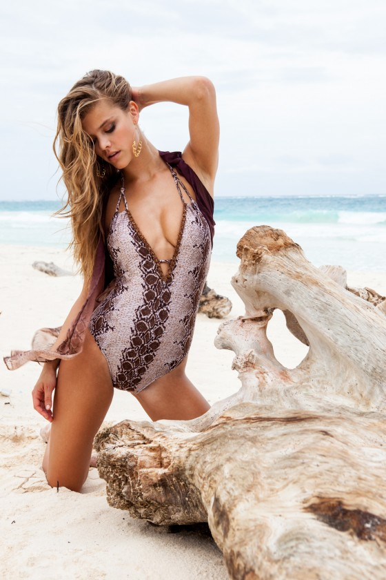 Nina Agdal – Sauvage Swimwear 2013 Resort Collection -54