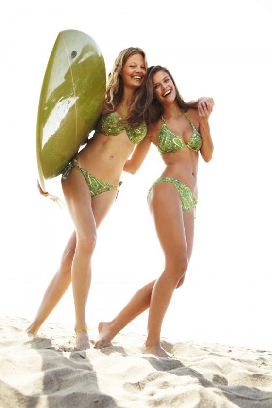 Nina Agdal – Sloggi Bikini 2013 Photoshoot -03