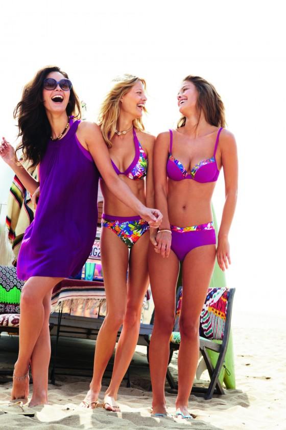 Nina Agdal – Sloggi Bikini 2013 Photoshoot -04