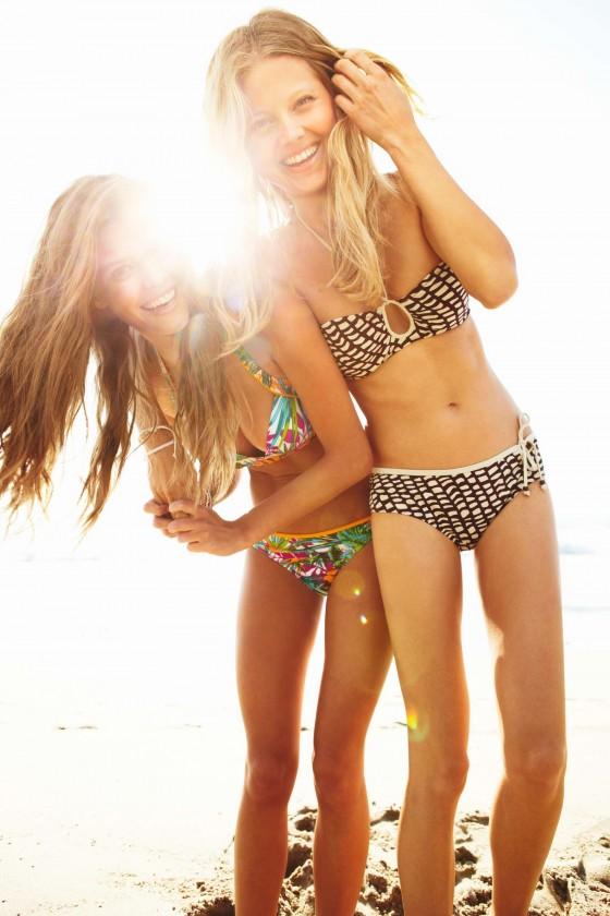 Nina Agdal – Sloggi Bikini 2013 Photoshoot -07