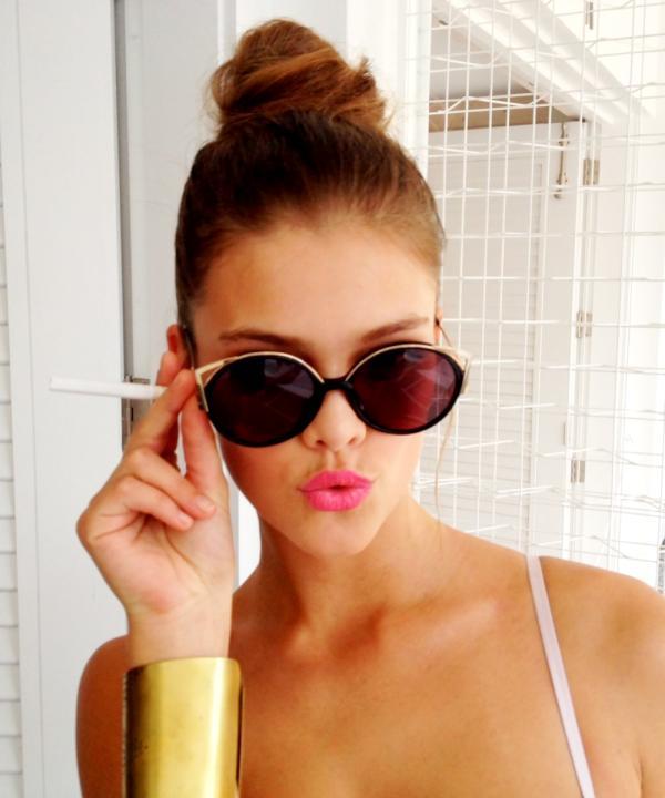 Nina Agdal – Twitter Pics - Full Size Pictures : GotCeleb
