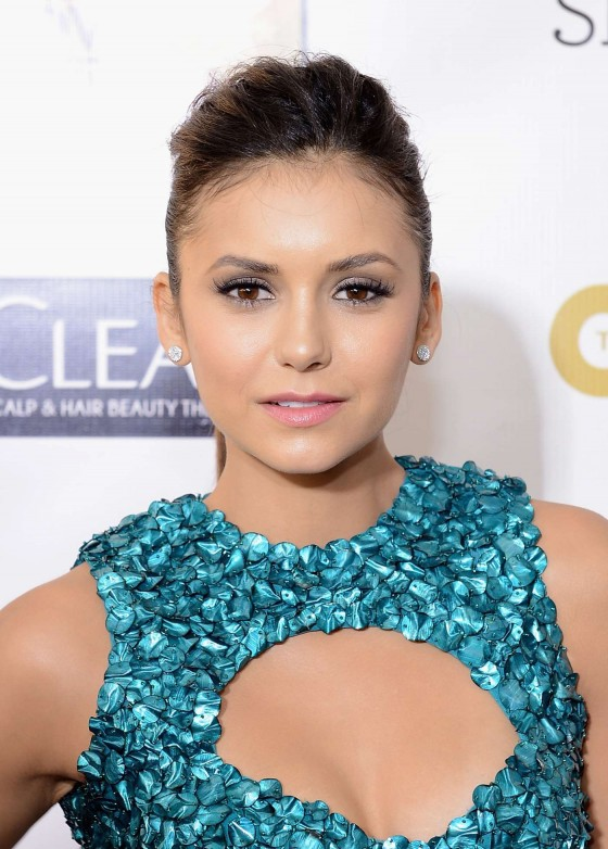 Nina Dobrev at 18th annual Critics Choice Movie Awards in Santa Monica, January 10, 2013