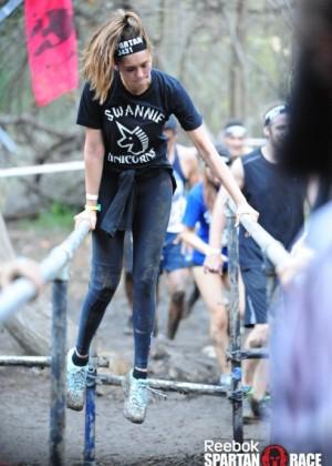Nina Dobrev - 2014 Reebok Spartan Race in Malibu