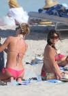 Nina Dobrev and Julianne Hough - Bikinis in Miami -26