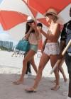 Nina Dobrev and Julianne Hough - Bikini Candids-01