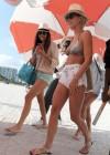 Nina Dobrev and Julianne Hough - Bikini Candids-09