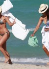 Nina Dobrev and Julianne Hough - Bikini Candids-14