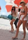 Nina Dobrev and Julianne Hough - Bikini Candids-19