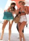 Nina Dobrev and Julianne Hough - Bikini Candids-26