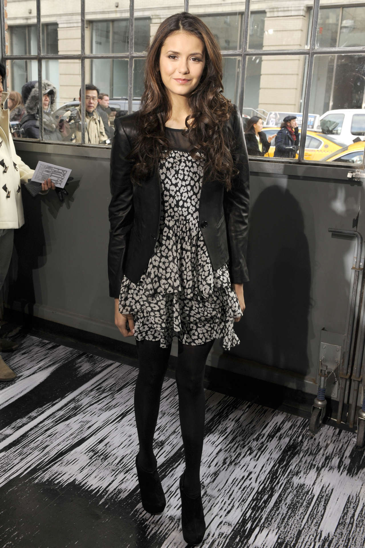 Nina Dobrev 2012 : Nina Dobrev at 2012 Fashion Show-06