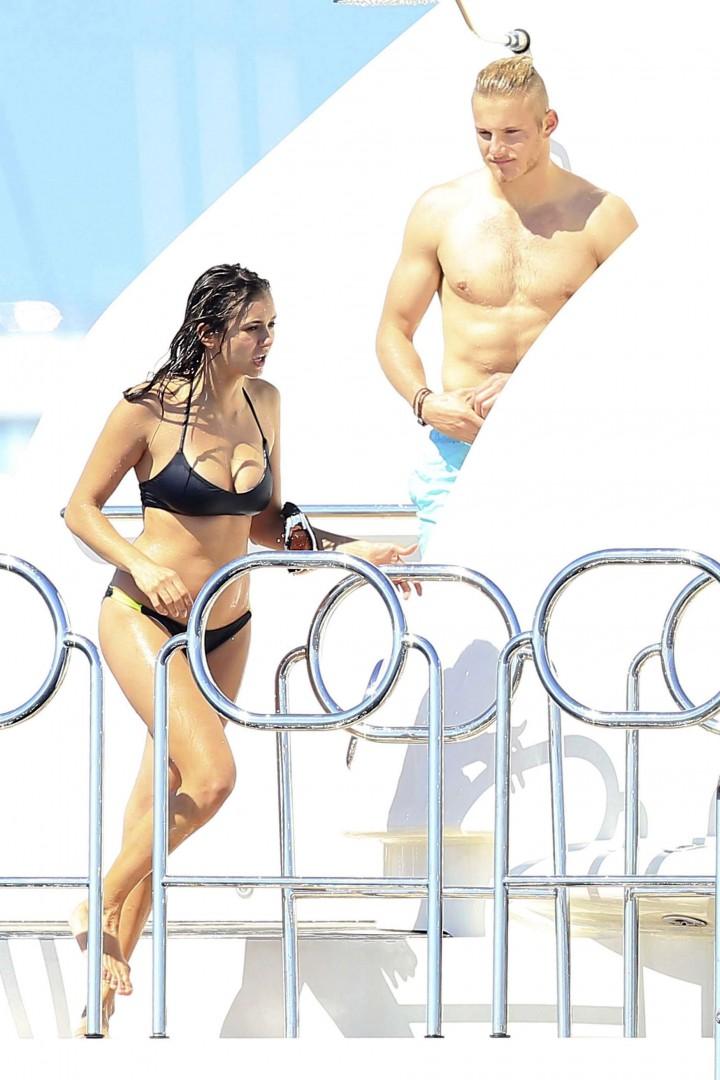 Nina Dobrev Bikini Photos: in Ibiza -08