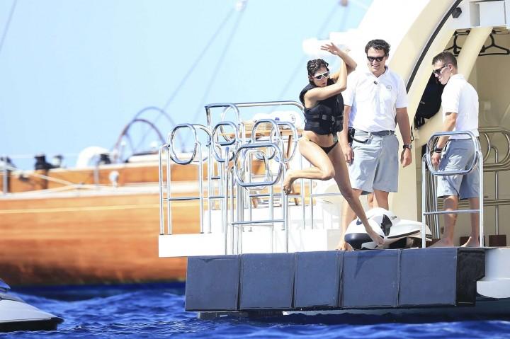 Nina Dobrev Bikini Photos: in Ibiza -13