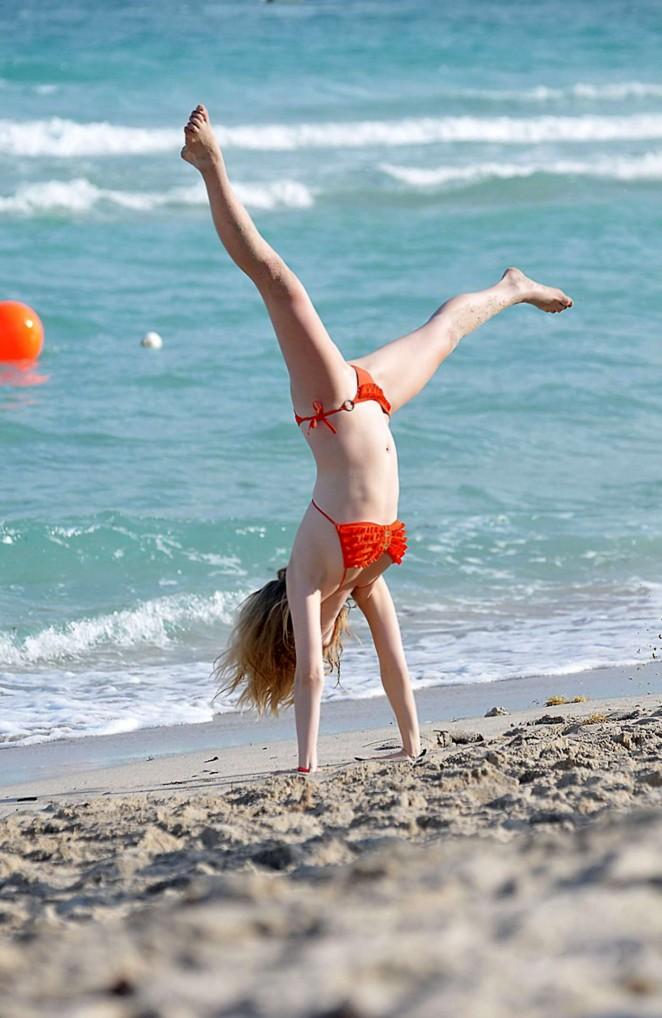 back to post nina dobrev bikini candids in miami