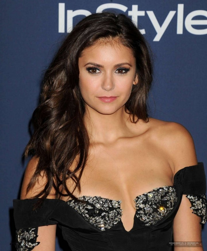 Nina Dobrev Photos: 2014 Golden Globes -03