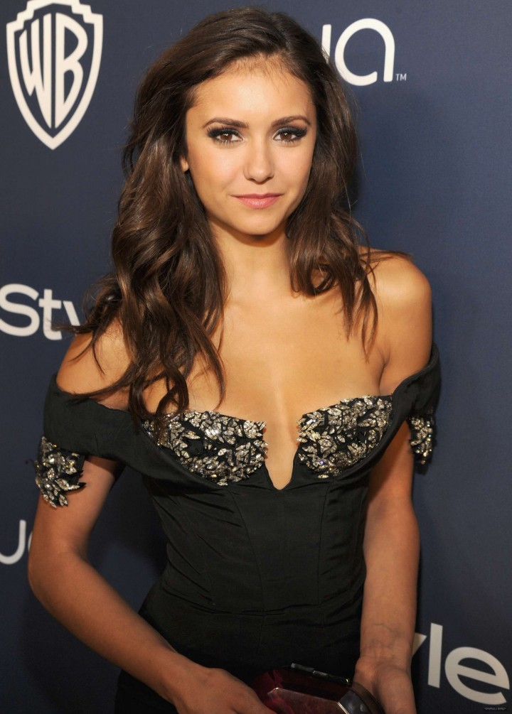 Nina Dobrev Photos: 2014 Golden Globes -06