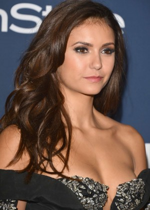 Nina Dobrev Photos: 2014 Golden Globes -07