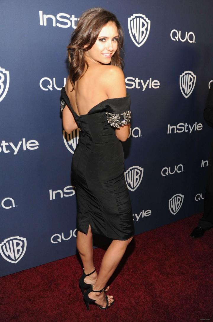 Nina Dobrev Photos: 2014 Golden Globes -12