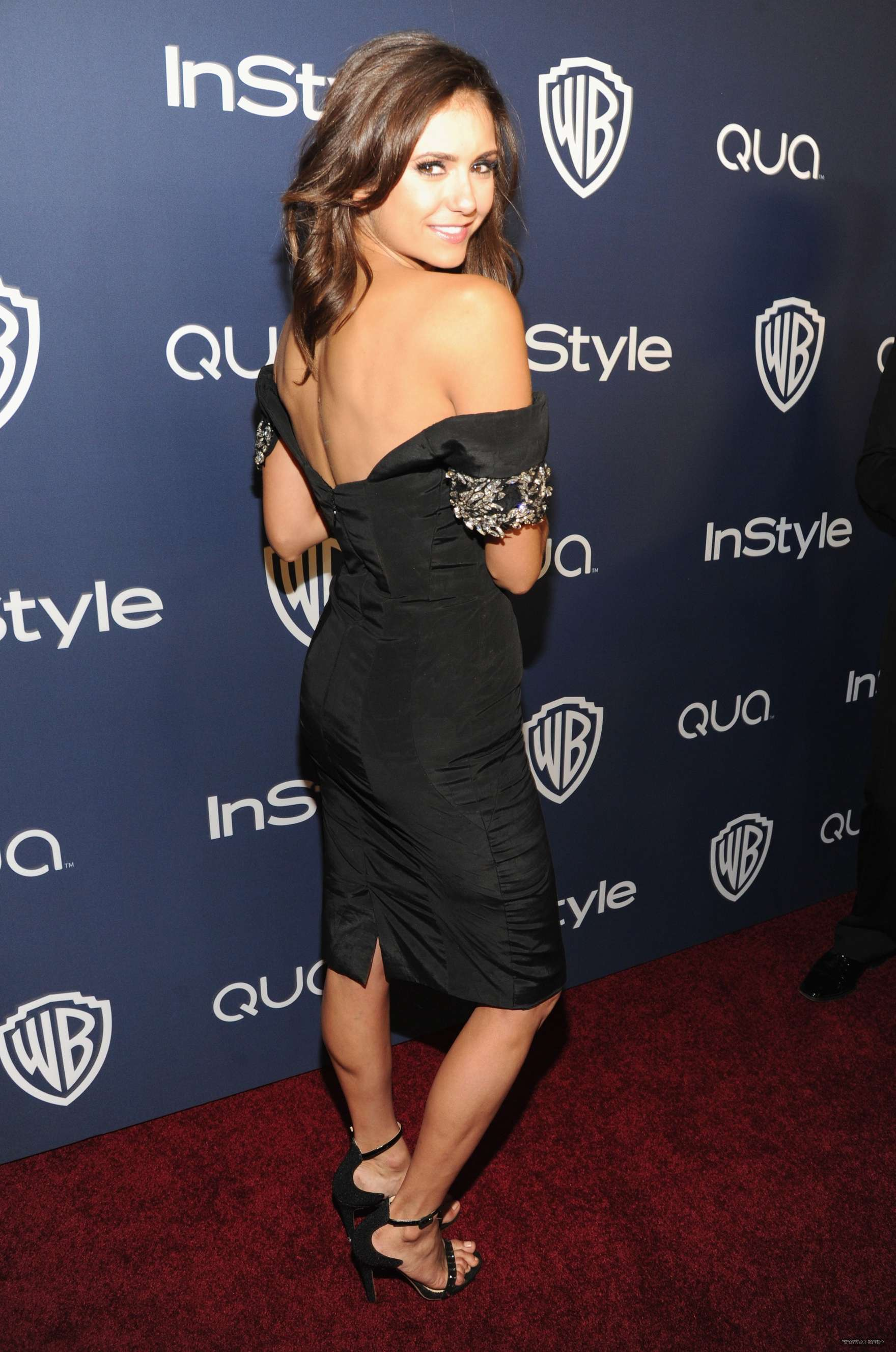 Nina Dobrev Photos 2014 Golden Globes 12 Gotceleb