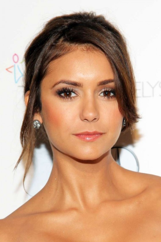 Nina Dobrev Photos: 2014 The Art of Elysiums 7th Annual HEAVEN Gala -03