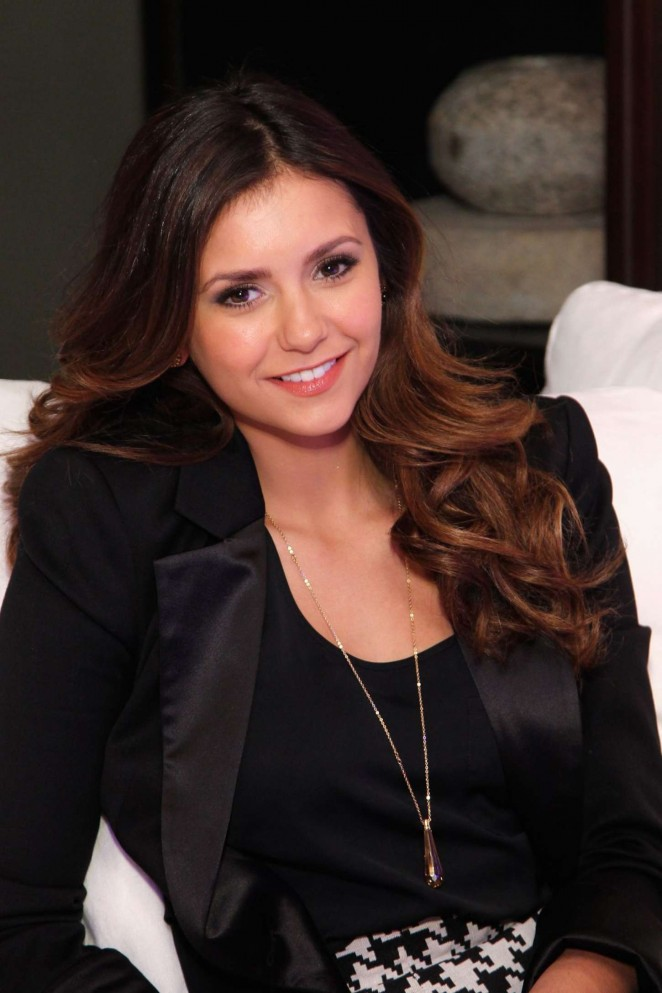 Nina Dobrev - The Gallery at the Estate in Buckhead Opening in Atlanta