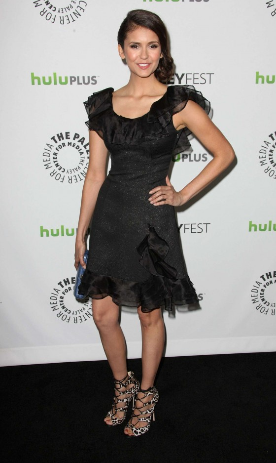 Nina Dobrev The Vampire Diares at PaleyFest-04
