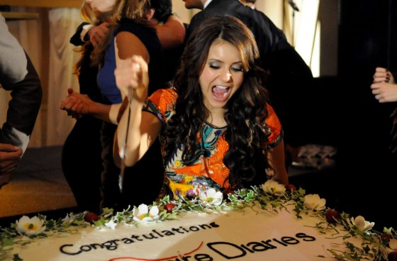 Nina Dobrev: The Vampire Diaries 100th Episode Celebration -02