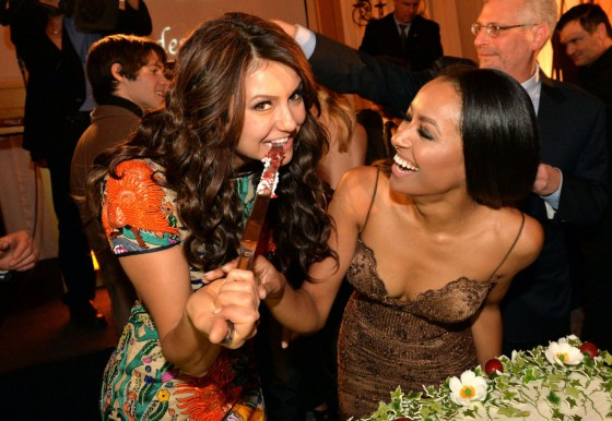 Nina Dobrev: The Vampire Diaries 100th Episode Celebration -05