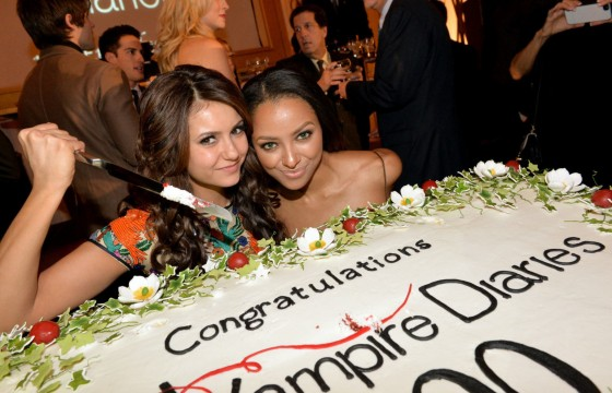 Nina Dobrev: The Vampire Diaries 100th Episode Celebration -06