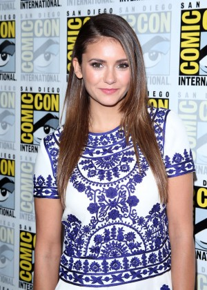 "Nina Dobrev - ""The Vampire Diaries"" Event at Comic-Con 2014"