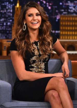 Nina Dobrev - Vistisits The Tonight Show Starring Jimmy Fallon