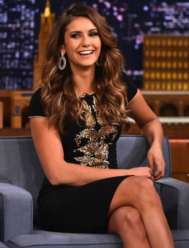 Nina Dobrev – Vistisits The Tonight Show Starring Jimmy Fallon