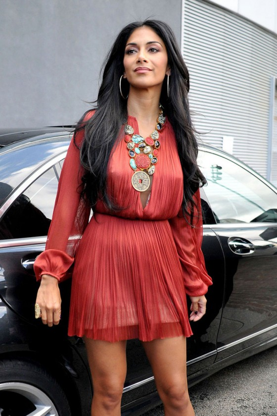 Nisole Scherzinger at The X Factor Camp