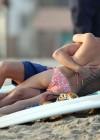 Odette Annable bikini candids on the set of Westside-13