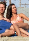 Odette Annable bikini candids on the set of Westside-16