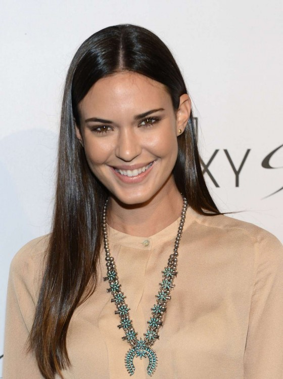 Odette Annable - Samsung Galaxy S III Launch in LA