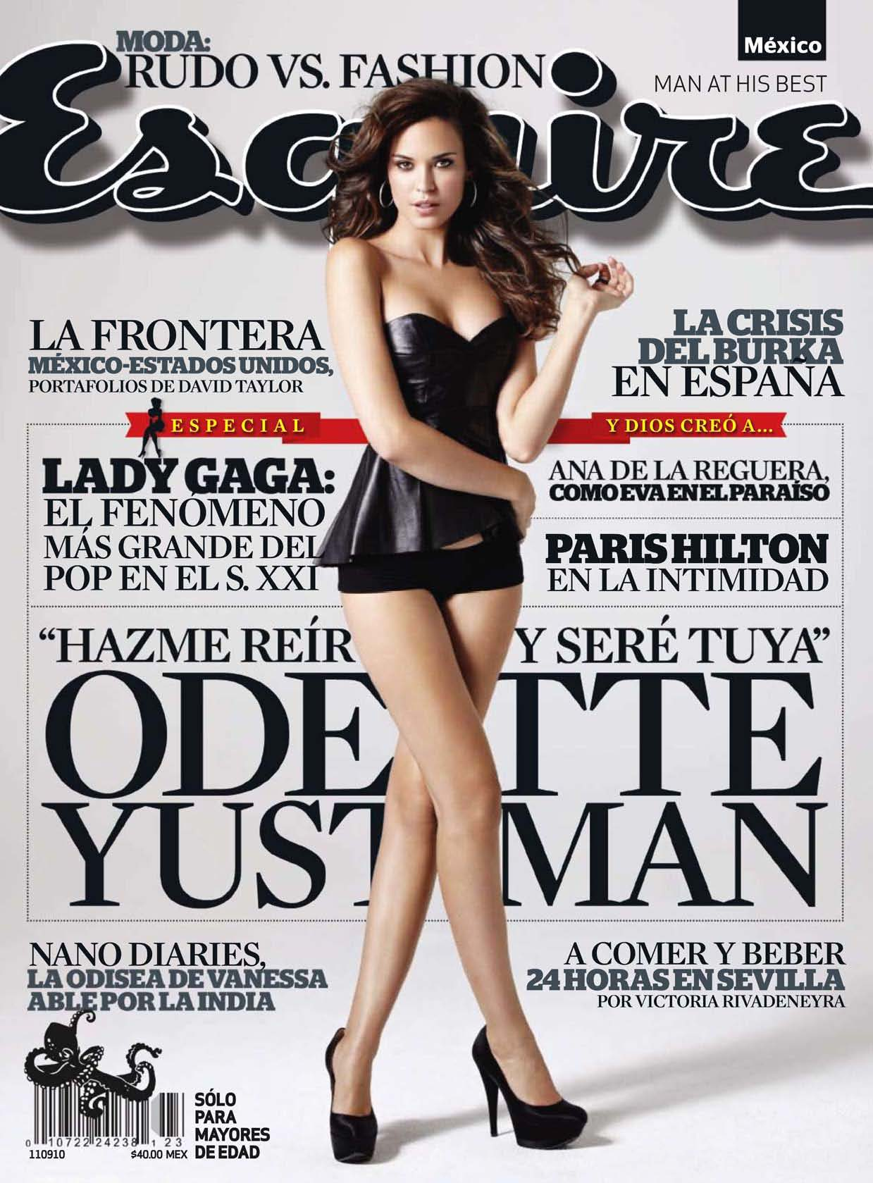 Back to post Odette Yustman     Esquire Magazine Mexico August 2010Odette Annable Transformers