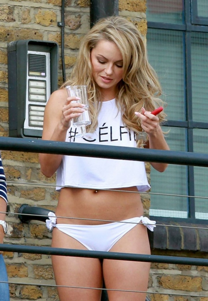 Ola Jordan - 2015 Calendar Photoshoot in East London