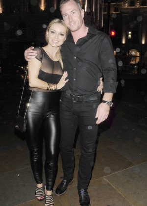 Ola Jordan in Leather at Werewold Club in Piccadilly Circus, London
