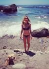 Olesya Rulin in a Bikini in Big Sur - California -01