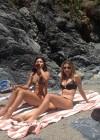 Olesya Rulin in a Bikini in Big Sur - California -04