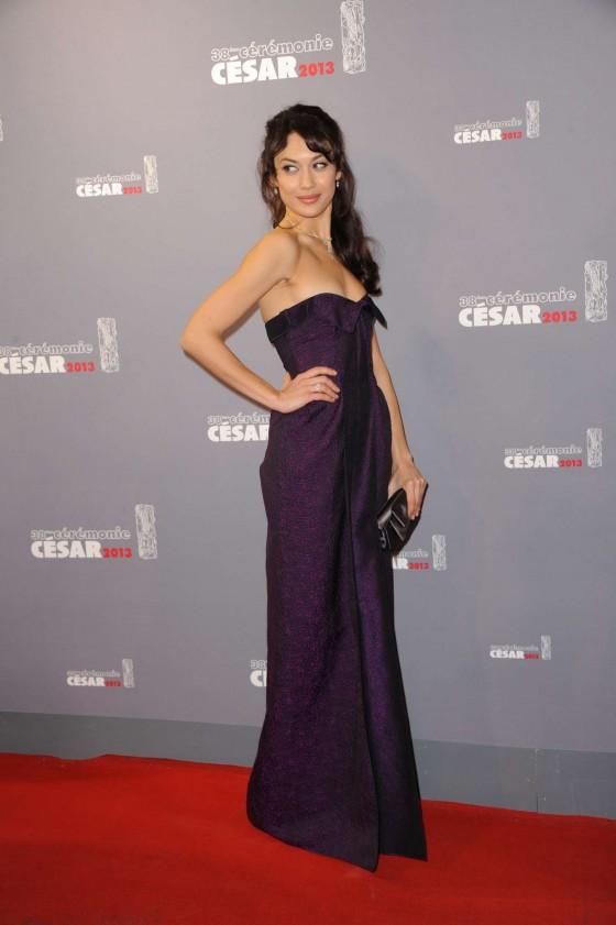 Olga Kurylenko – 2013 Cesar Film Awards ceremony -03