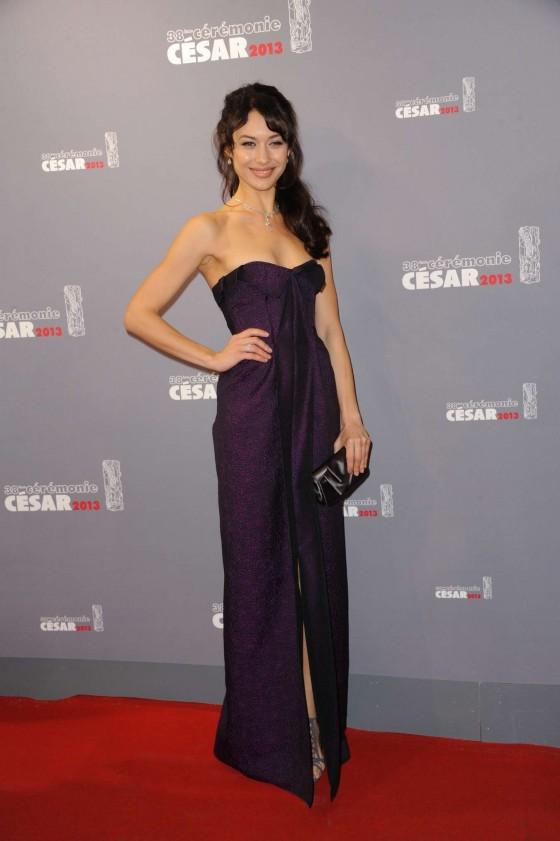 Olga Kurylenko – 2013 Cesar Film Awards ceremony -05