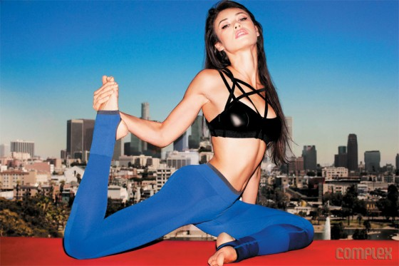 Olga Kurylenko in Complex Magazine October November 2012 issue LQ